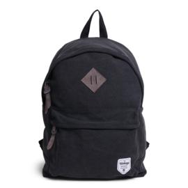Vintage Canvas Backpack Black