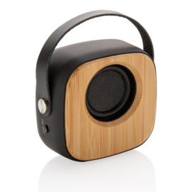 Bamboe 3W draadloze speaker