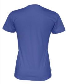 T-shirt Gemaakt Van Organische Katoen, Royal Blue