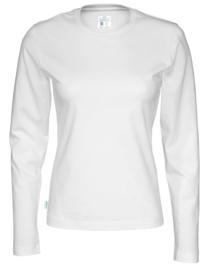T-shirt Long Sleeve Gemaakt Van Organische Katoen, Dames