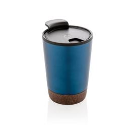 Kurk Koffiebeker, Blauw