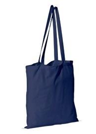 Katoenen schoudertas, donkerblauw