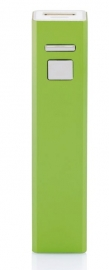 Powerbank 2200 mAh, groen