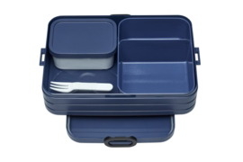 Bento Lunchbox Take a Break large, Nordic Denim
