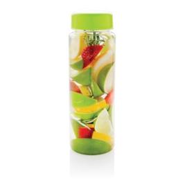 Everyday fles met infuser, groen