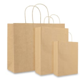Basic Papieren Tassen Deluxe, Bruin