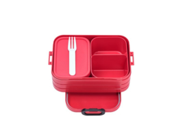 Bento Lunchbox Take a Break midi, Nordic Red