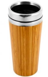Isoleerbeker Van Bamboe & RVS