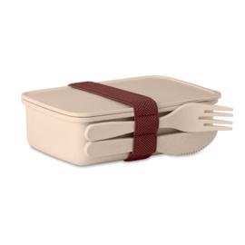 Bamboevezel Lunchbox, Geel