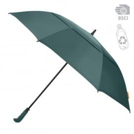 Grote golf paraplu van 100% gerecycled PET