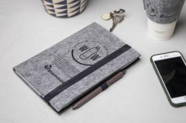 RPET vilten notitieboekje