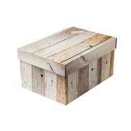Geschenkdoos rechthoekig sloophout