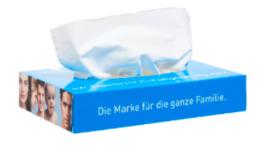 Classic 50 tissue box