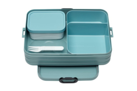 Bento Lunchbox Take a Break large, Nordic Green