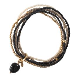 Nirmala Armband, Onyx