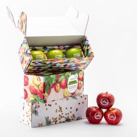 Geschenkverpakking Met 3 Appels