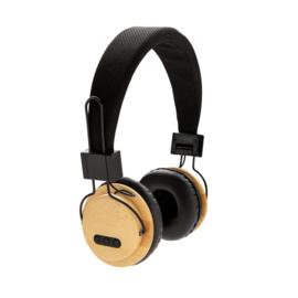 Bamboe draadloze koptelefoon