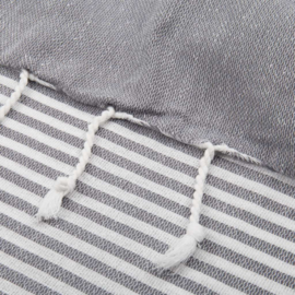 XL ECO Cotton Towel, Dark Grey