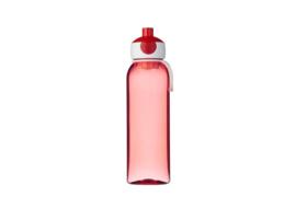Waterfles Campus 500 ml, Rood