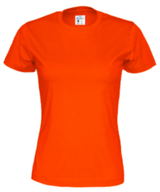 Cottover T-shirt, oranje