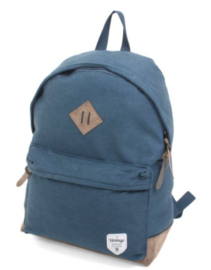 Canvas backpack, blue