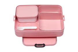 Bento Lunchbox Take a Break large, Nordic Pink