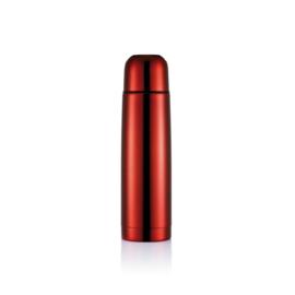 Roestvrijstalen isoleerfles, rood