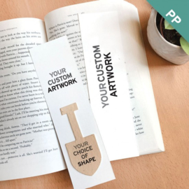 Large Seed Paper Bookmark