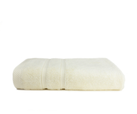 Bamboo handdoek ivory, 50 x 100 cm