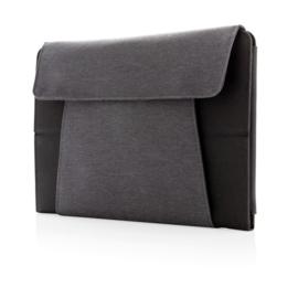 """Kyoto 10"""" tablet portfolio met draadloze oplader, zwart"""