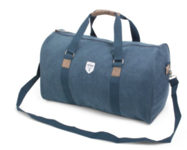 Canvas weekend bag, blue