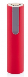 Powerbank 2.200 mAh, rood