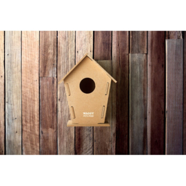 Duurzaam Vogelhuisje Van MDF