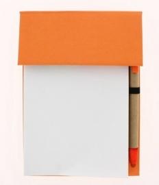 Bloc set A6 oranje