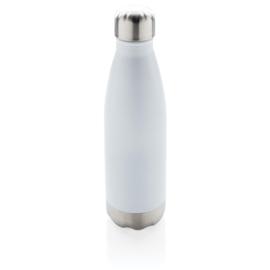 Vacuüm geïsoleerde roestvrijstalen fles, wit