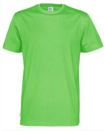 t-shirt Men Cottover kleur groen