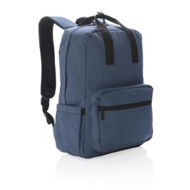 Laptop totepack, blauw