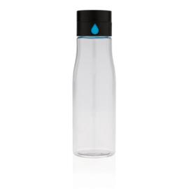 Aqua hydratatie tritan fles, transparant