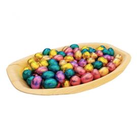 Biologische Afbreekbaar Cacaoblad, Met 750 Gram Gemengde Paaseitjes