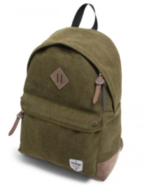 Canvas backpack, green
