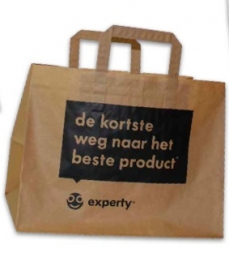 Gerecyclede papieren tas, Take Away