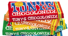 Tony's Chocolonely  180 grams reep gepersonaliseerd