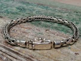 Echt zilveren armband MD4