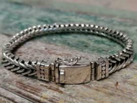 Echt zilveren armband MD5