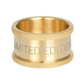 iXXXi basisring Limited Edition 12mm goud