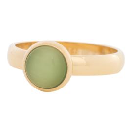 10mm 1 cat eye green (4 mm)