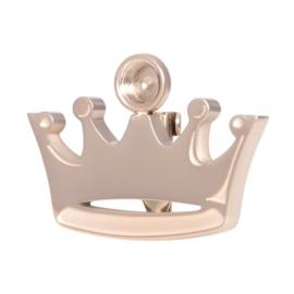 Crown Brooch top part rosé