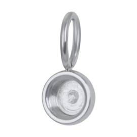 Charm Top part base zilver