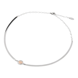 BANGLE NECKLACE HEART
