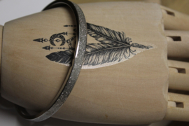 dames armband edelstaal bangle model